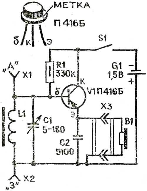 Радиоприемник своими руками на транзисторах
