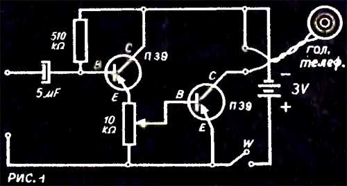 транзисторного усилителя