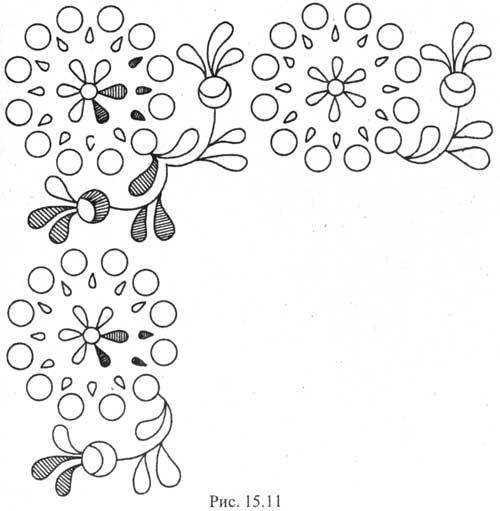 Схема вышивка прорезная