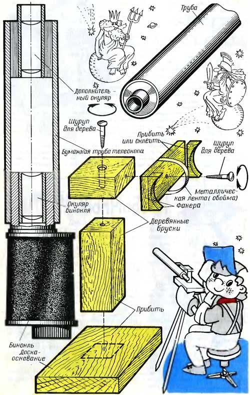 Как сделать телескоп в майнкрафте видео